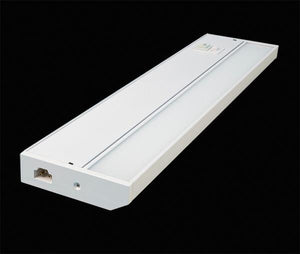 "GM Lighting UCTUN-24-WH 120V 24"" 14W TunableTask Adjustable Kelvin Undercabinet Lighting - White - Ready Wholesale Electric Supply and Lighting"