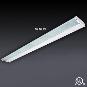 "GM Lighting X24-120-SS 24"" 120V LumenTask Xenon Undercabinet - Stainless Steel - Ready Wholesale Electric Supply and Lighting"