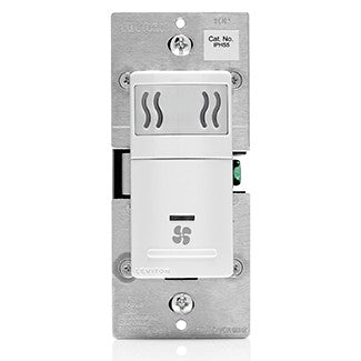 Leviton IPHS5-1L - Decora In-Wall Humidity Sensor & Fan Control, 3A, Single Pole - Ready Wholesale Electric Supply and Lighting