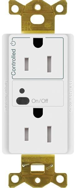 Lutron CAR2S-15-STR-15A Vive Split Wireless Receptacle - Ready Wholesale Electric Supply and Lighting