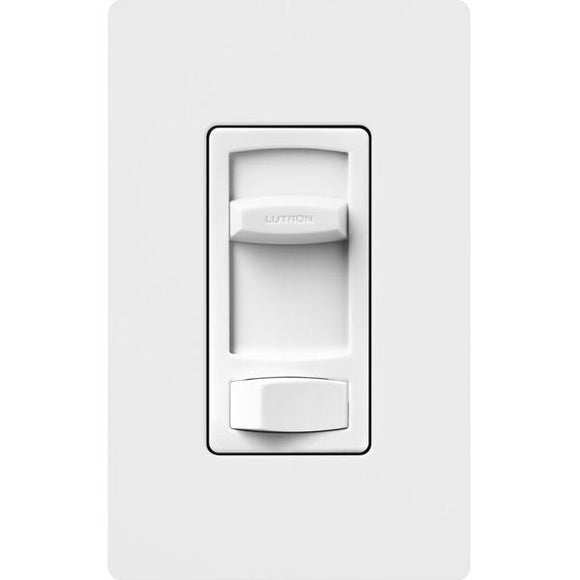Lutron CT-603PH Skylark Contour 600W 3-Way, Incandescent / Halogen Eco-Dim Dimmer in Clamshell Packaging - Ready Wholesale Electric Supply and Lighting