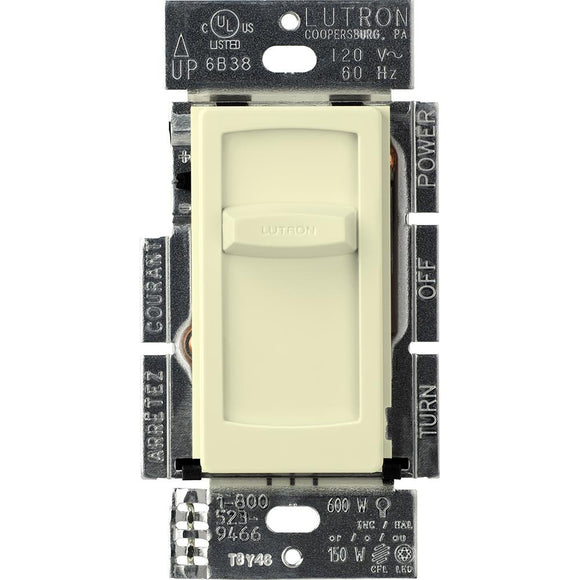 Lutron CTCL-150H Skylark Contour CL, Single Pole, Slide-To-Off Dimmer in Clamshell Packaging - Ready Wholesale Electric Supply and Lighting