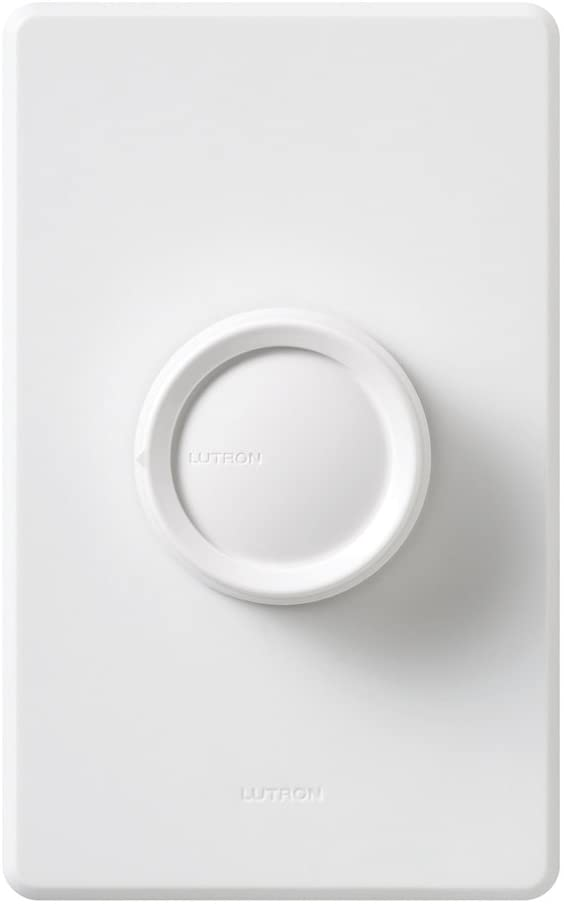 Lutron D-600P Rotary 600W, Single pole, Incandescent / Halogen Preset Dimmer - Ready Wholesale Electric Supply and Lighting