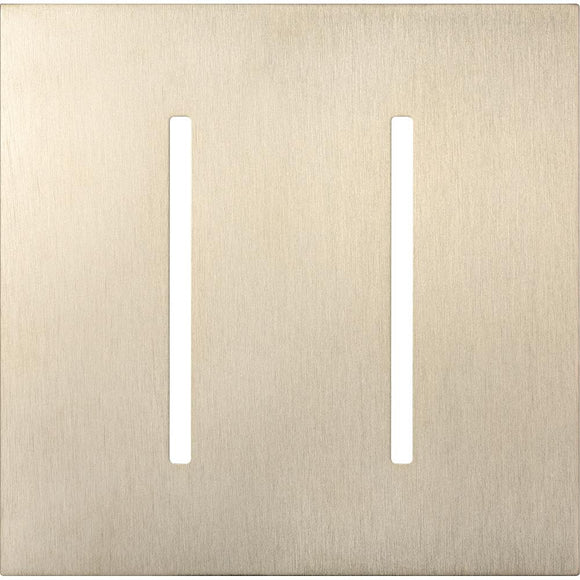 Lutron LWT-GG New Architectural / Grafik T Wallplate (2 Gang) - Ready Wholesale Electric Supply and Lighting