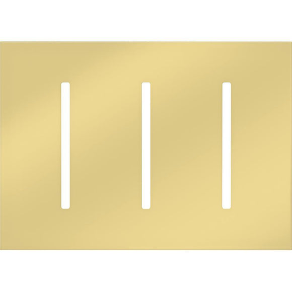 Lutron LWT-GGG New Architectural / Grafik T Wallplate (3 Gang) - Ready Wholesale Electric Supply and Lighting