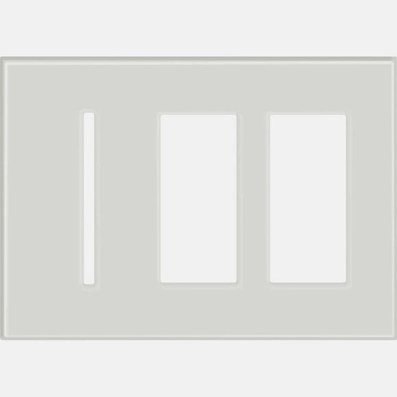 Lutron LWT-GTT New Architectural / Grafik T Wallplate (3 Gang) - Ready Wholesale Electric Supply and Lighting
