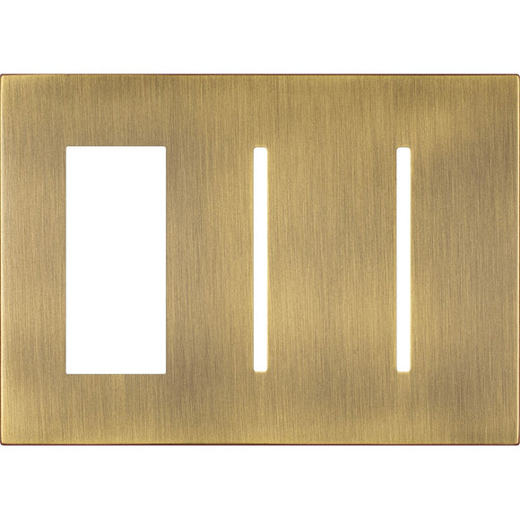 Lutron LWT-TGG New Architectural / Grafik T Wallplate (3 Gang) - Ready Wholesale Electric Supply and Lighting