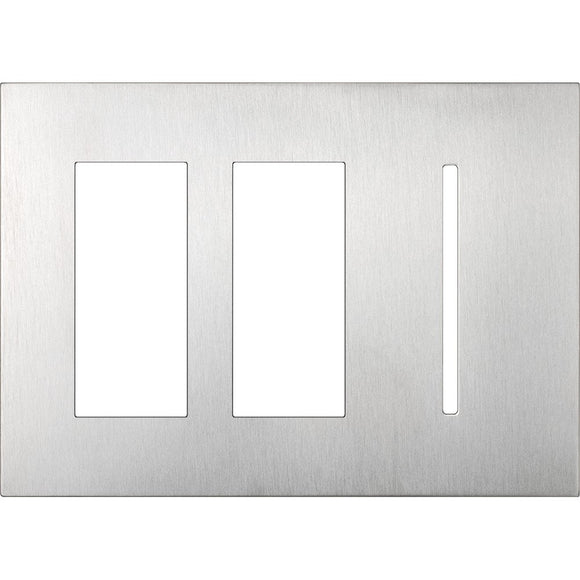 Lutron LWT-TTG New Architectural / Grafik T Wallplate (3 Gang) - Ready Wholesale Electric Supply and Lighting