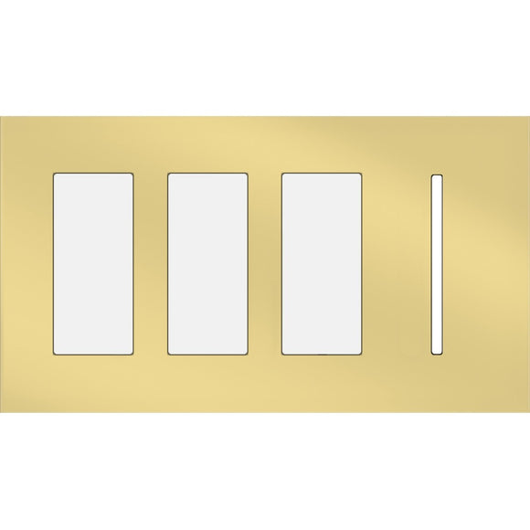 Lutron LWT-TTTG New Architectural / Grafik T Wallplate (4 Gang) - Ready Wholesale Electric Supply and Lighting