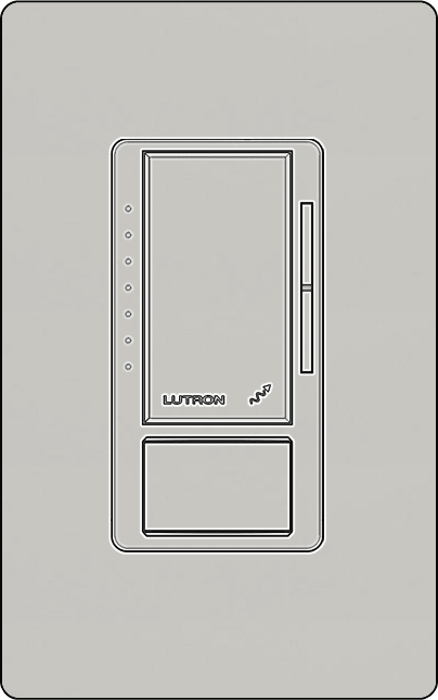 Lutron MRF2S-8SDV010 Vive Wireless in Wall Vacancy Sensing 0-10V Dimmer - Ready Wholesale Electric Supply and Lighting