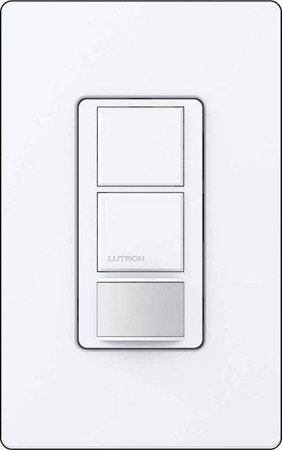 Lutron MS-PPS6-DDV Maestro In-Wall, Dual Circuit, Single Pole, Partial Occupancy/Vacancy Sensing Switch - Ready Wholesale Electric Supply and Lighting