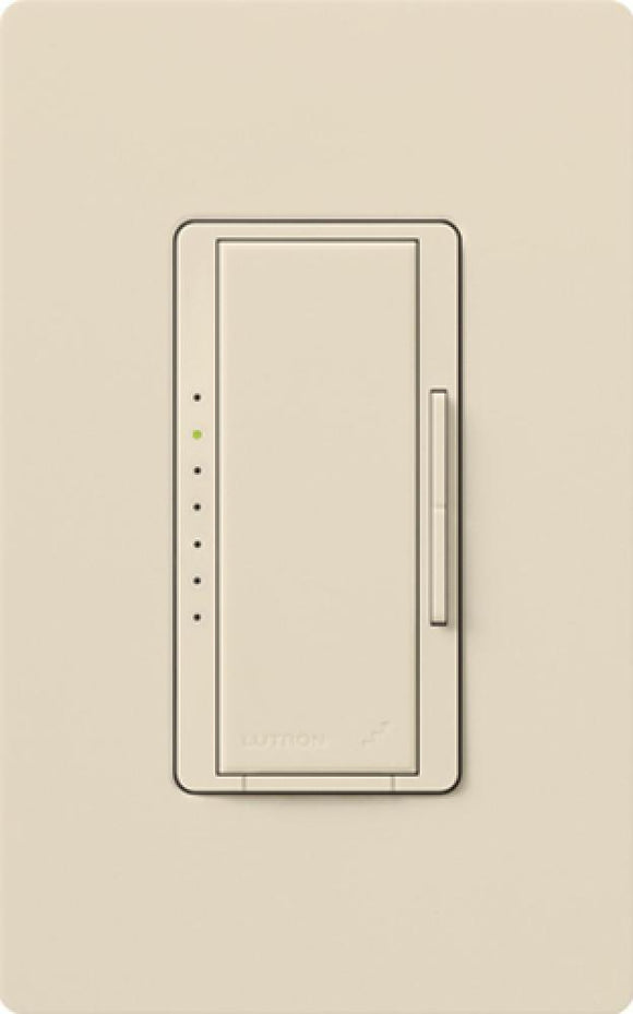 Lutron MSC-1000M Maestro (satin) 1000W, Single Pole or Multi-Location, Incandescent/Halogen Dimmer - Ready Wholesale Electric Supply and Lighting