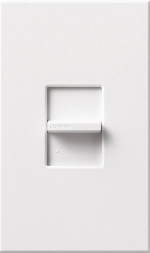 Lutron NTF-10-277 Nova T 277V, 8A, Single Pole, 3-Wire Fluorescent, Slide-To-Off Dimmer - Ready Wholesale Electric Supply and Lighting