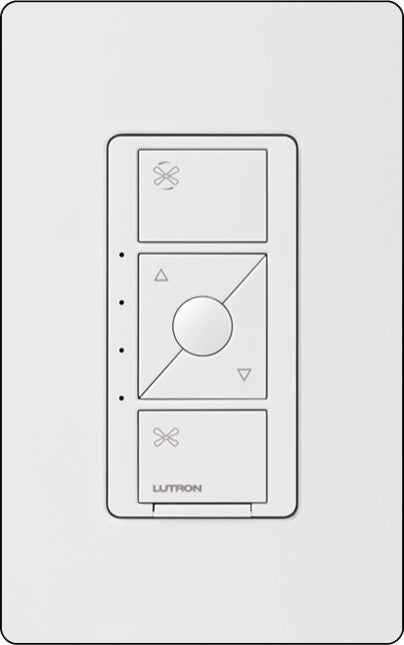 Lutron PD-FSQN Caséta Wireless In-Wall Fan Control - Ready Wholesale Electric Supply and Lighting