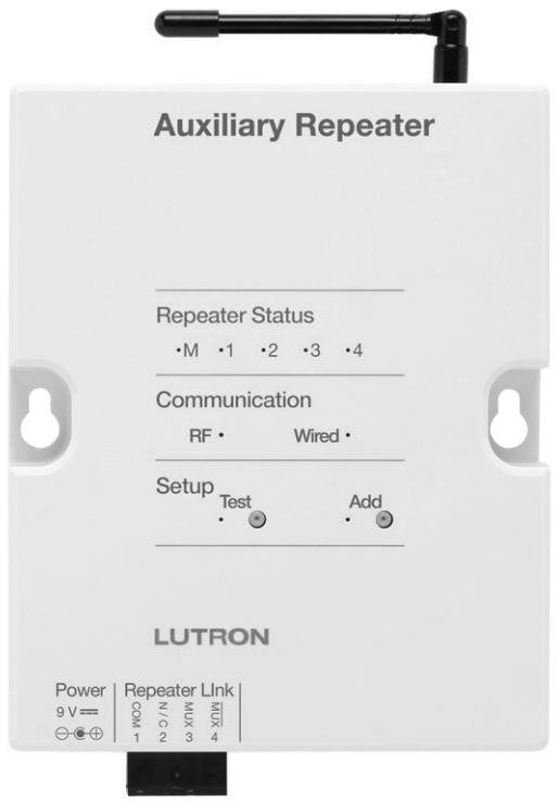 Lutron RadioRA 2 RR-AUX-REP-WH - Ready Wholesale Electric Supply and Lighting