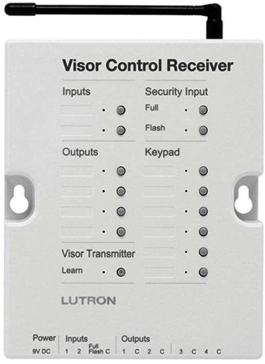 Lutron RadioRA 2 RR-VCRX-WH Car Visor Controls - Ready Wholesale Electric Supply and Lighting