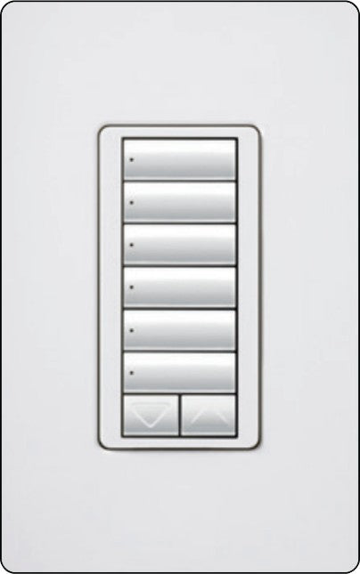 Lutron RadioRA 2 RRD-HN6BRL Hybrid Keypad - Ready Wholesale Electric Supply and Lighting