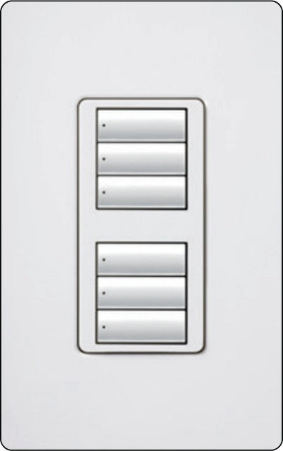 Lutron RadioRA 2 RRD-W3BD Wall-Mounted Keypad - Ready Wholesale Electric Supply and Lighting