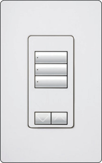 Lutron RadioRA 2 RRD-W3BRL Wall-Mounted Keypads - Ready Wholesale Electric Supply and Lighting