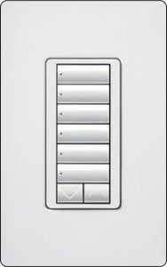 Lutron RadioRA 2 RRD-W6BRL Wall-Mounted Keypads - Ready Wholesale Electric Supply and Lighting
