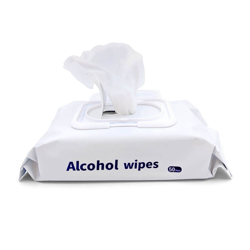 60% Alcohol Cleaning Wipes 50 Wipes Per Dispenser