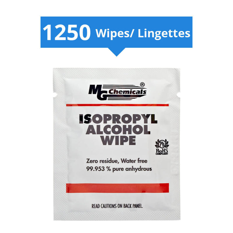 99% Alcohol Wipes Individually Packed