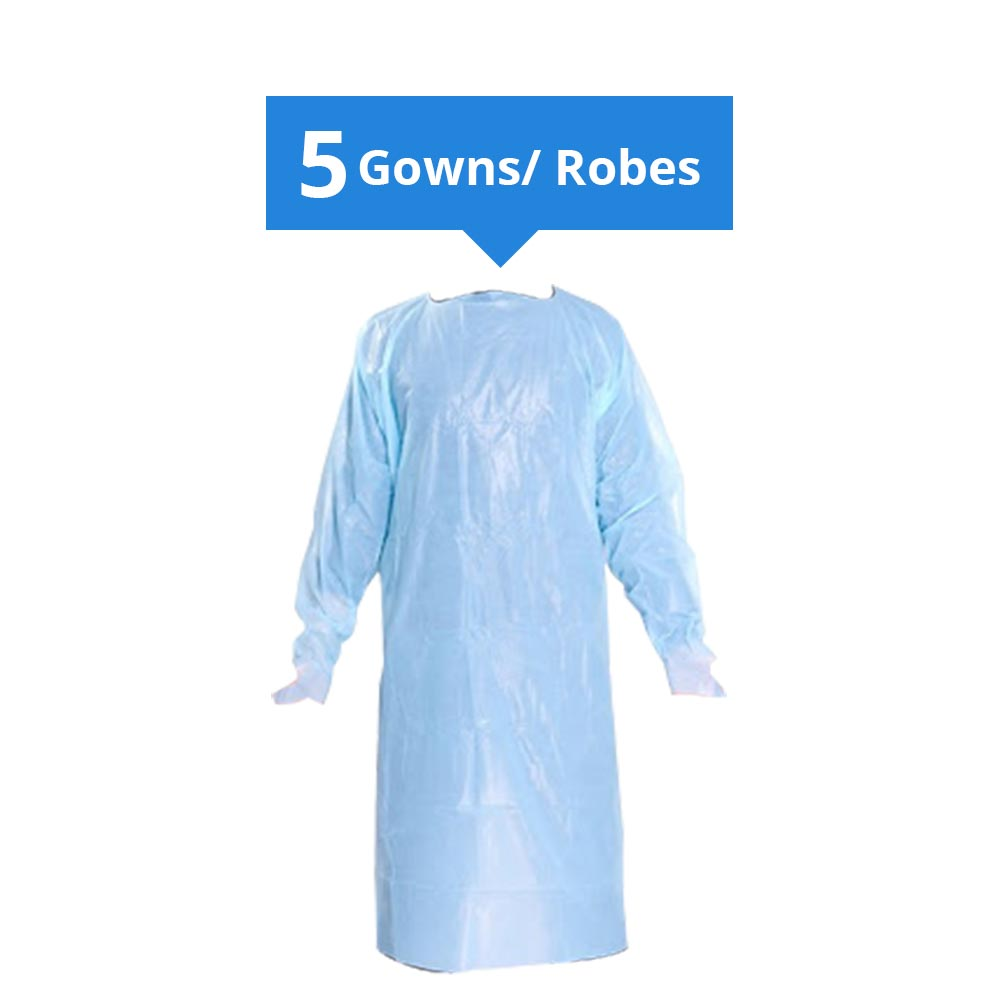 Robe d'isolation imperméable jetable