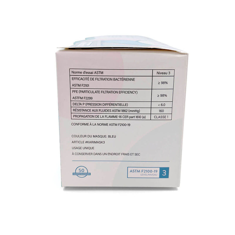 Karisma ASTM Lvl 3 Medical Face Mask