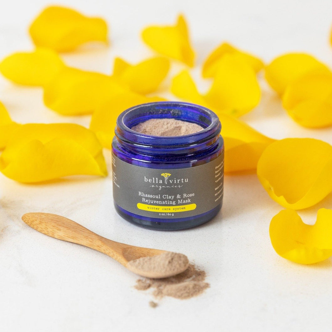 Rhassoul Clay & Rose Rejuvenating Mask
