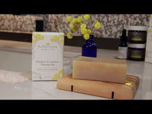 Load and play video in Gallery viewer, Rosemary & Lavender Cleansing Bar