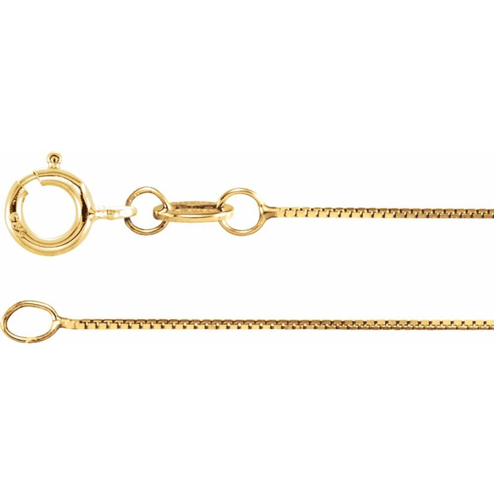 Box Chain With Spring Ring (9960982)