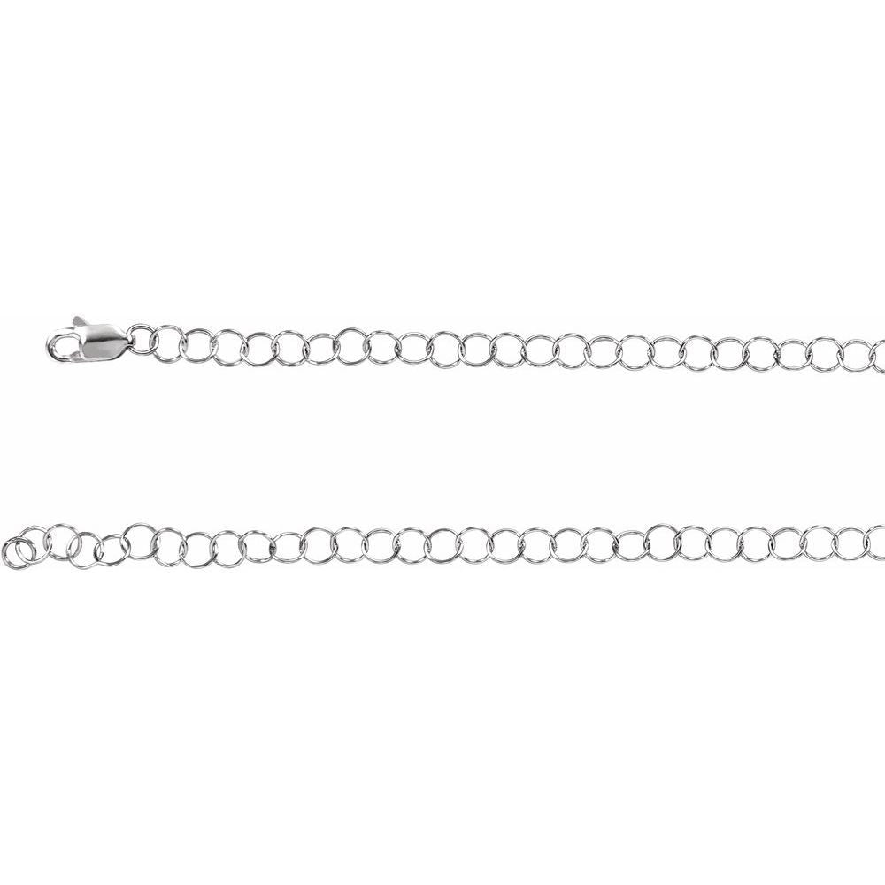 3.5Mm Round Cable Chain With Lobster Clasp (17081074)