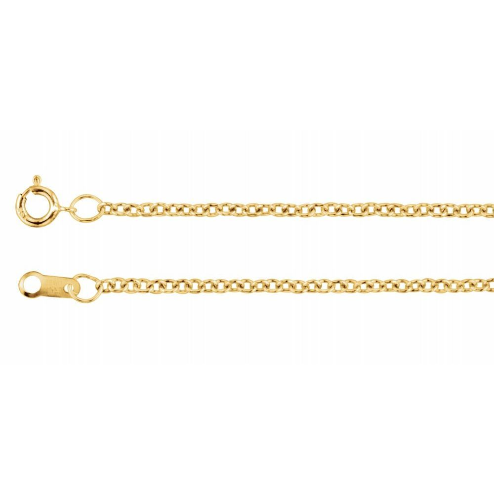 Cable Chain With Spring Ring (130494)