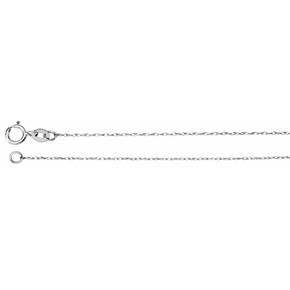 Rope Chain With Spring Ring (103031)