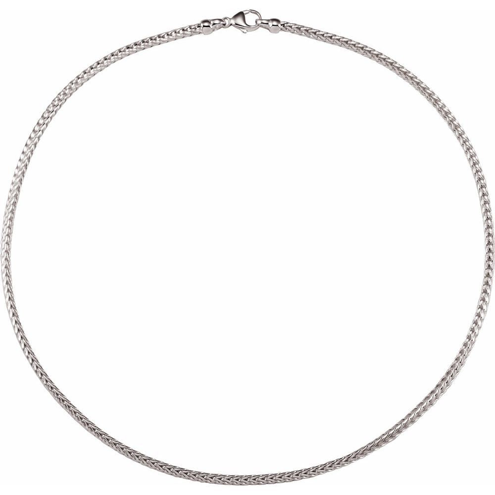 Solid Foxtail Chain With Lobster Clasp (143748)