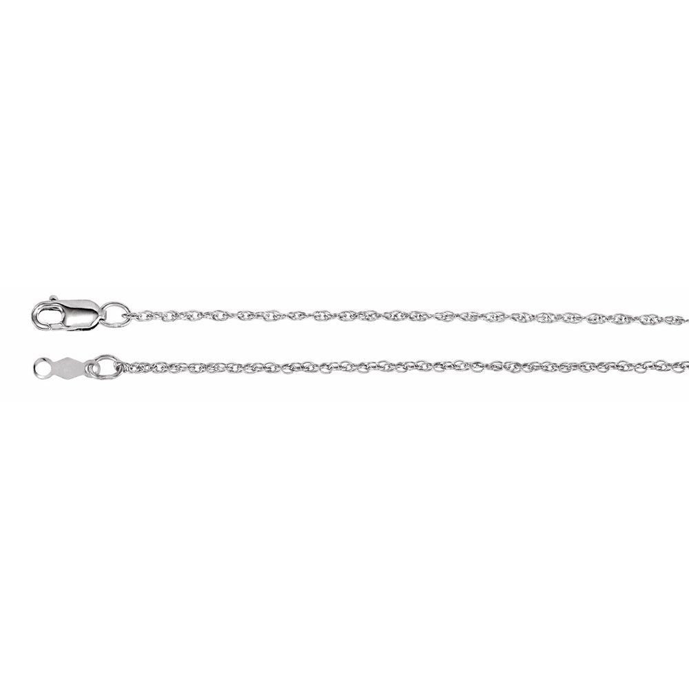 1.25Mm Rope Chain With Lobster Clasp (12959476)