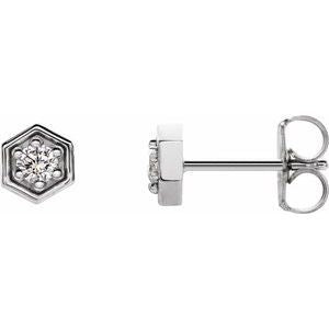 Women's Moissanite Earrings