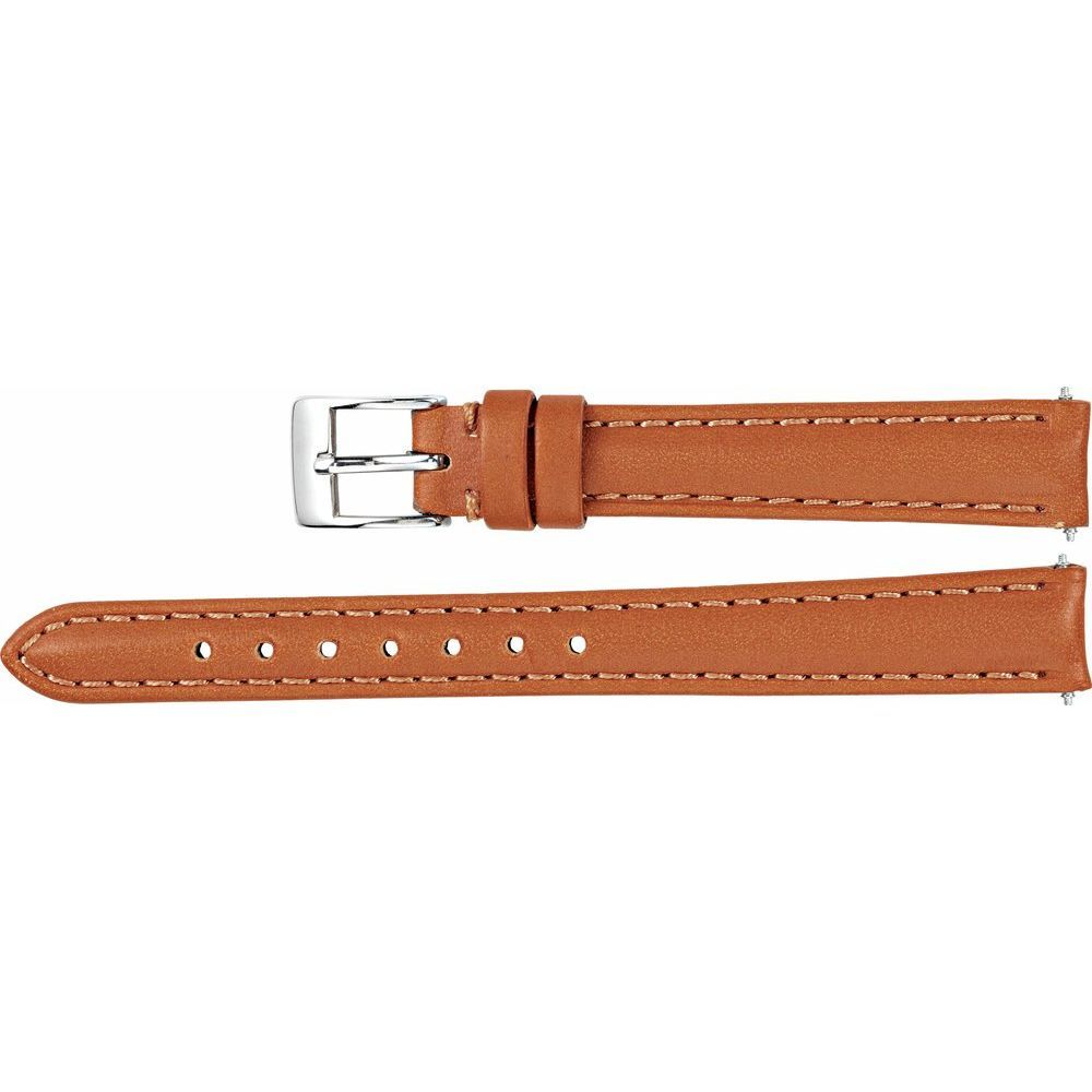 Leather Matte Bridle Padded Watch Band (2948554)