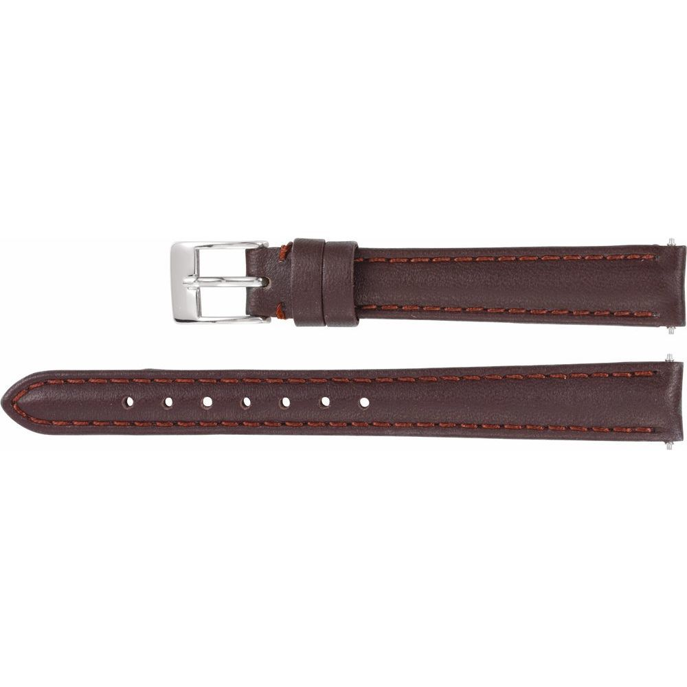 Leather Water-Resistant Padded Watch Band (2948659)
