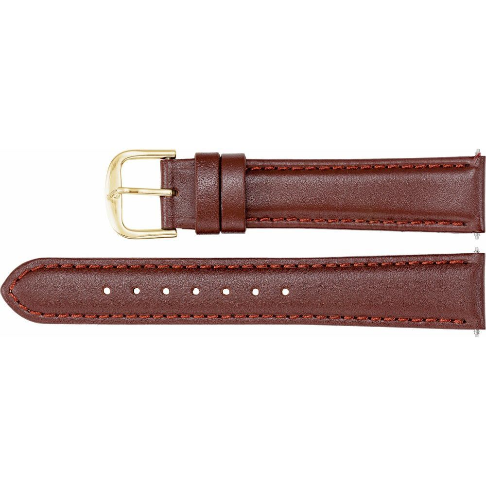Leather Calf Padded Watch Band (130510)