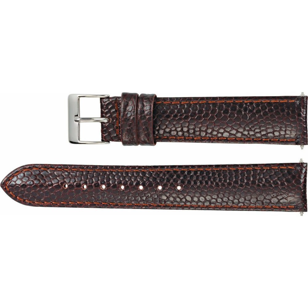 Leather Lizard Grain Padded Watch Band (2947471)
