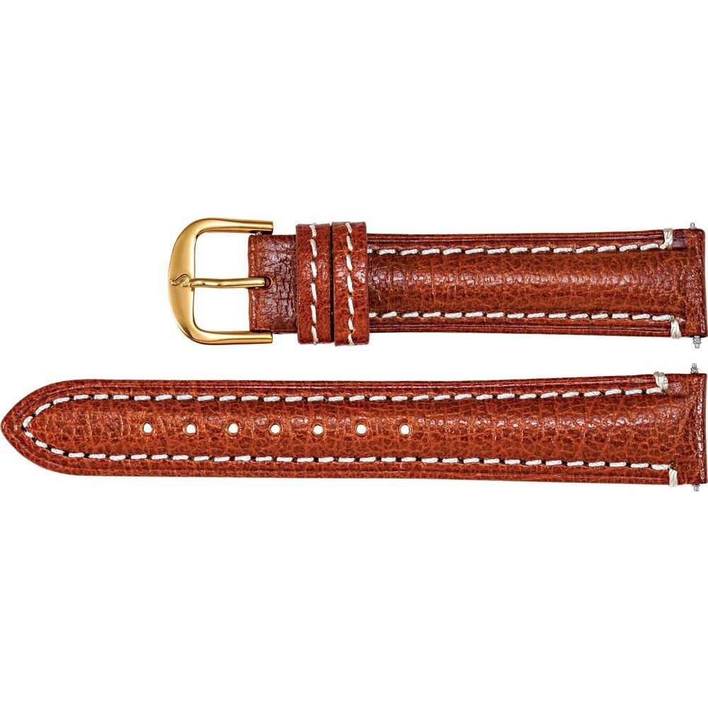 Leather Matte Finish Heavy Padded Watch Band (2248411)