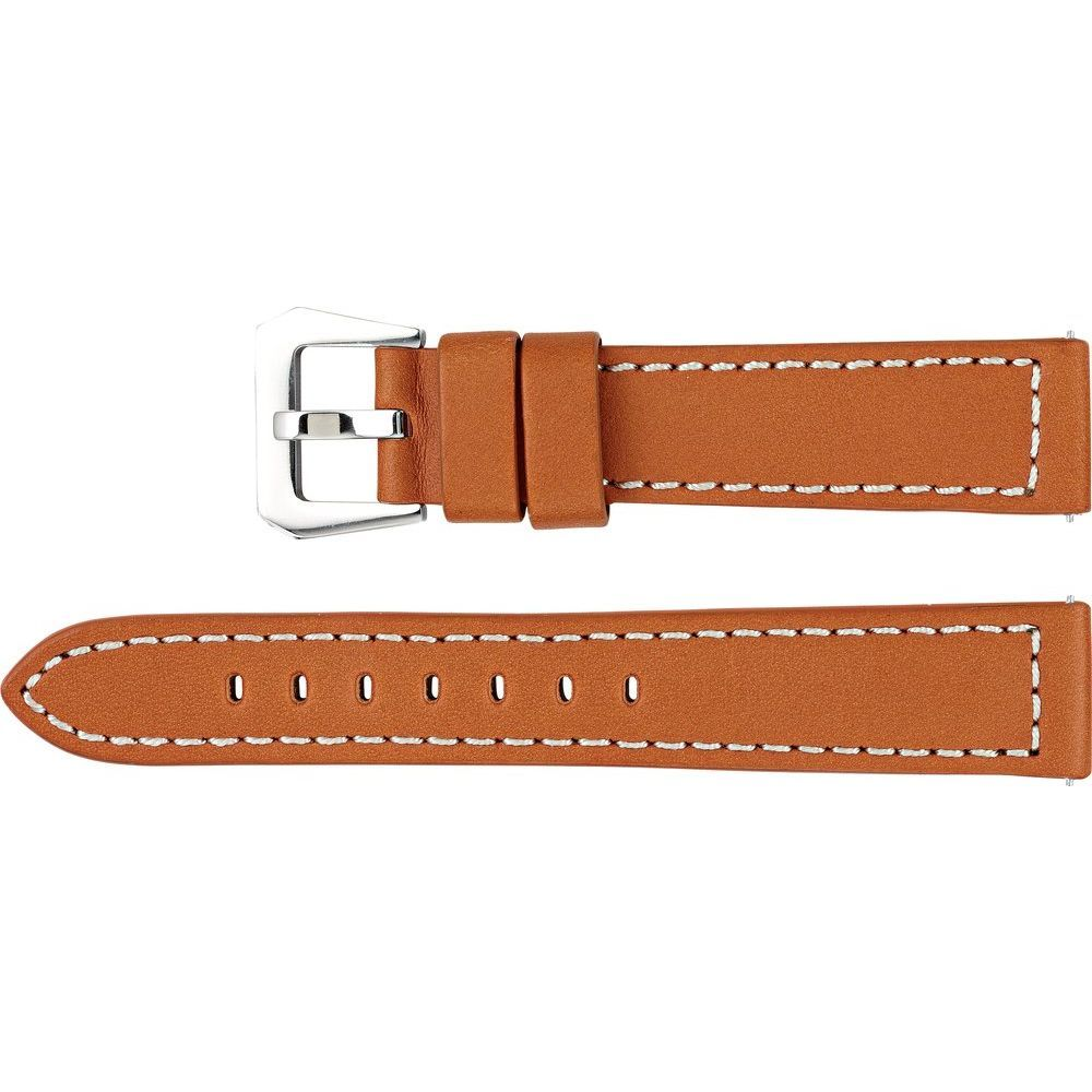 Leather Chrono Sport Padded Watch Band (2947930)