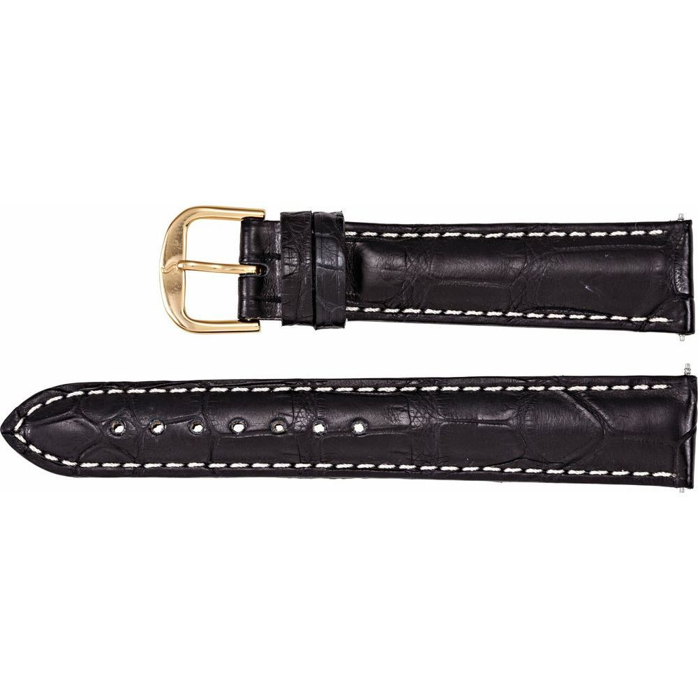 Matte Genuine Louisiana Alligator Padded Watch Band (2246407)