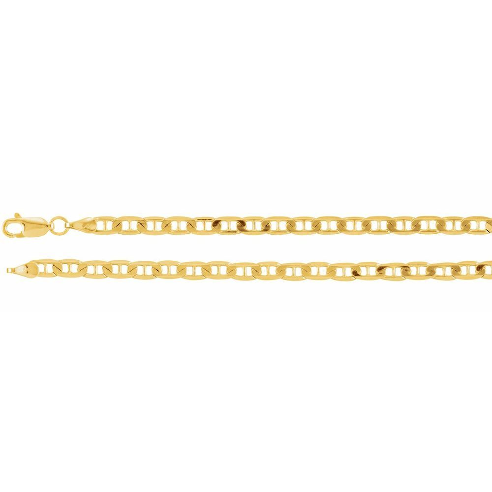 Curbed Anchor Chain With Lobster Clasp (103016)
