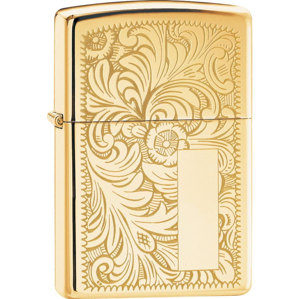 Zippo® Venetian® High Polish Brass Lighter (5692267)