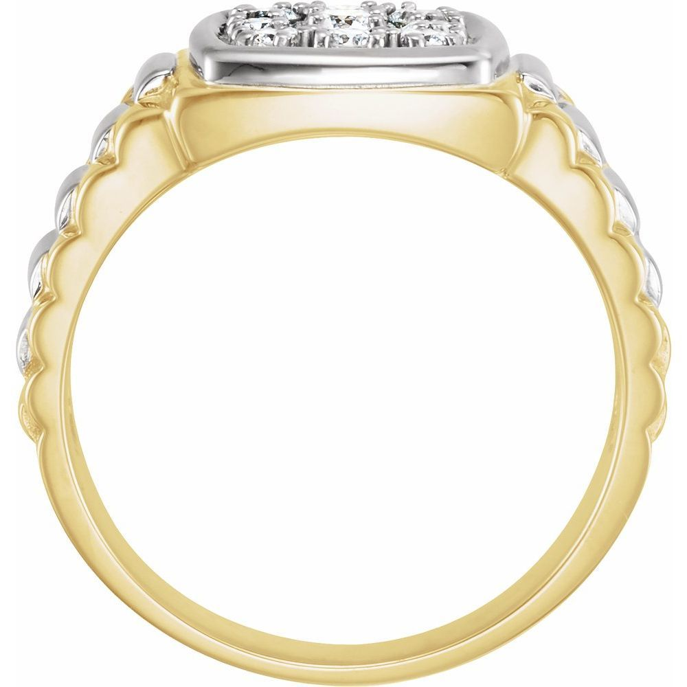 3/8 Ctw Diamond Mens Ring (138282)