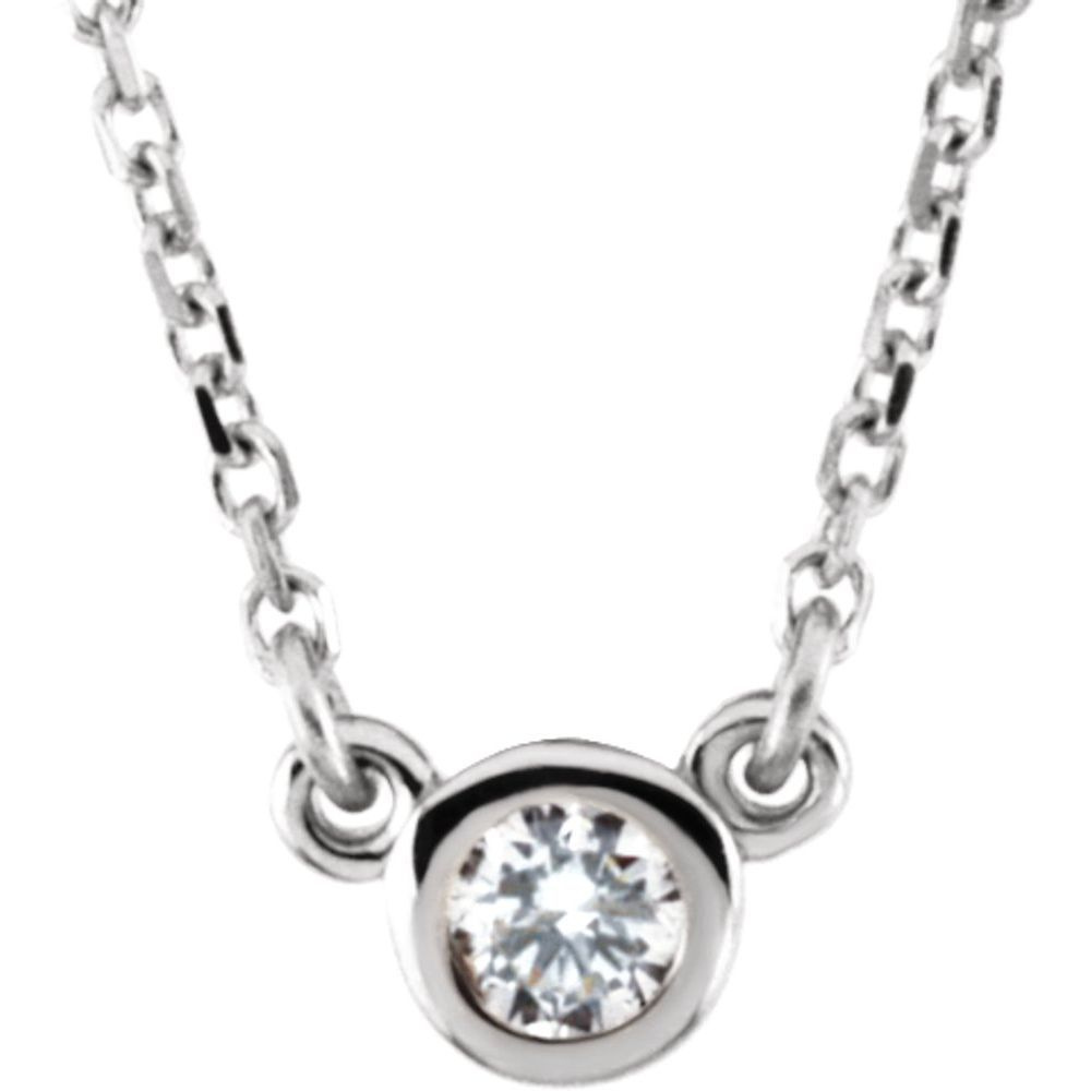 Imitation Diamond Necklace (11920092)