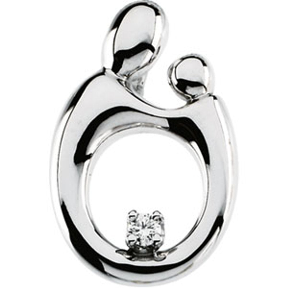 Mother & Child Sm Dia. Pendant (877421)