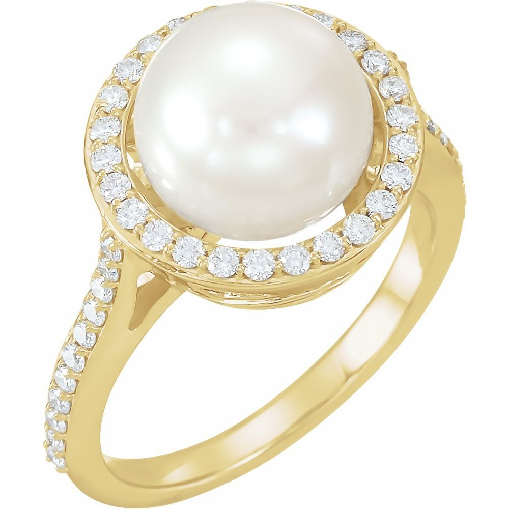 Fresh Cult Pearl & Dia Ring (2730979)